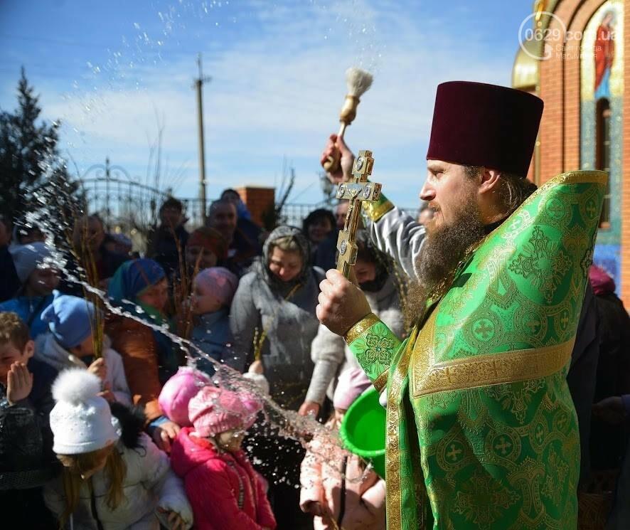 Вербное воскресенье в Свято-Покровском храме с.Боевое, фото-17