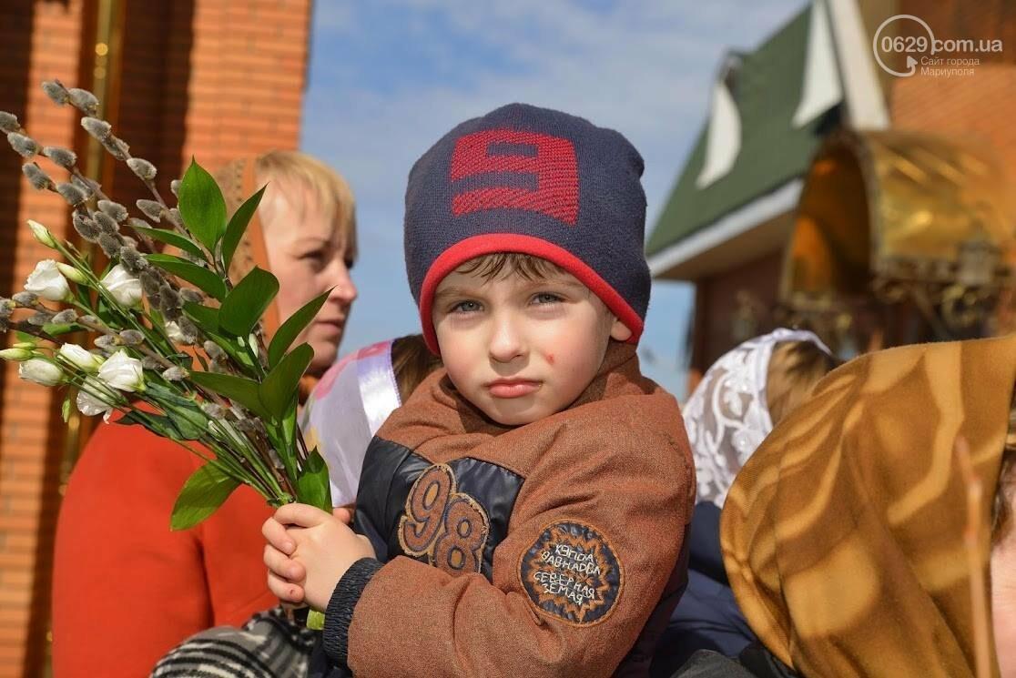 Вербное воскресенье в Свято-Покровском храме с.Боевое, фото-23