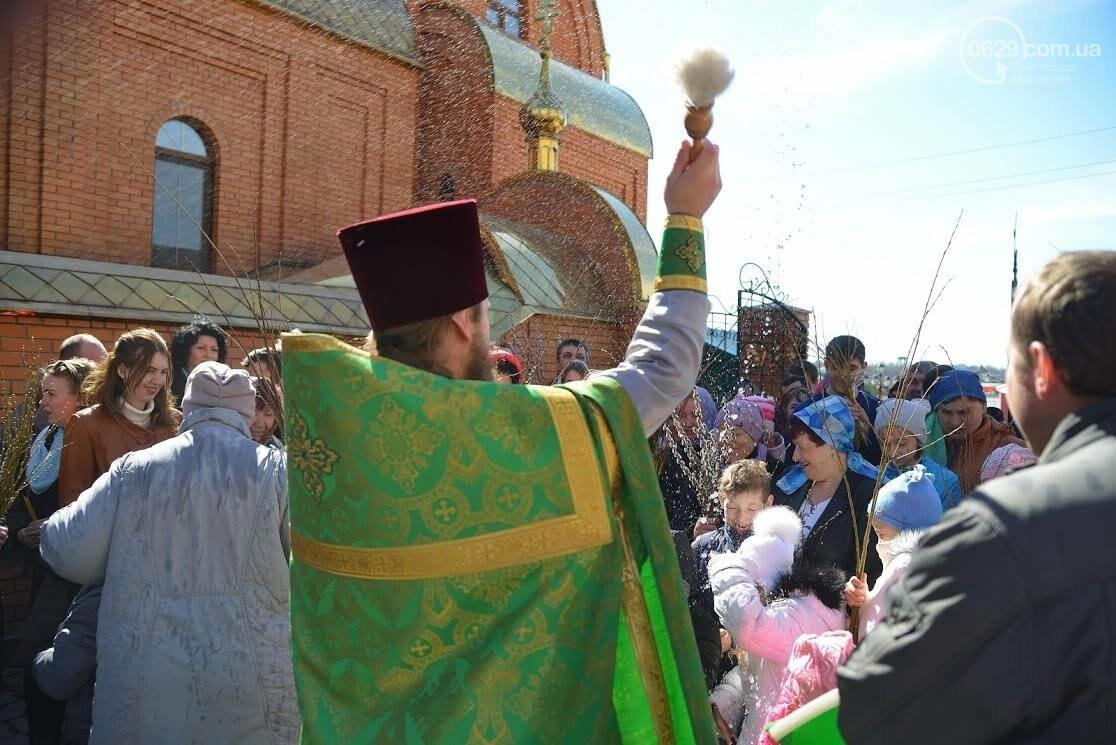 Вербное воскресенье в Свято-Покровском храме с.Боевое, фото-25