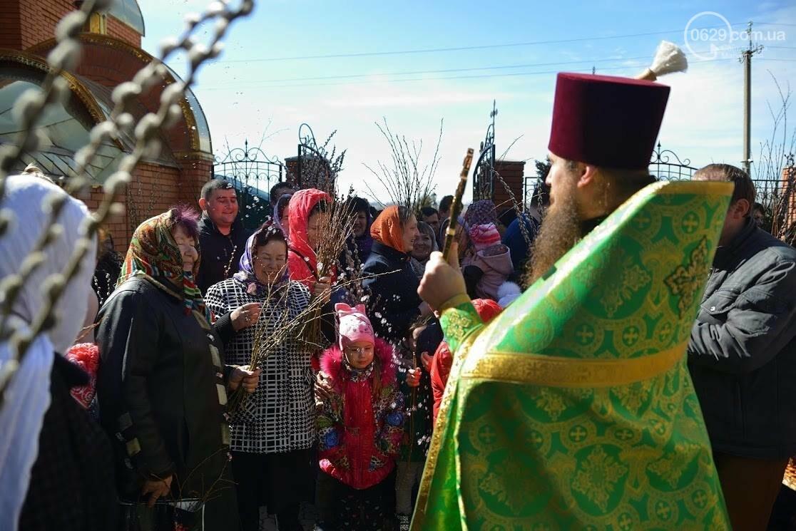 Вербное воскресенье в Свято-Покровском храме с.Боевое, фото-26