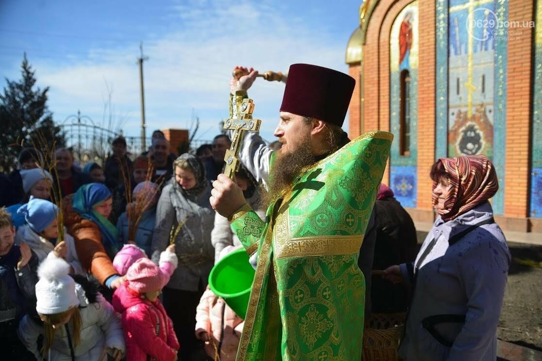 Вербное воскресенье в Свято-Покровском храме с.Боевое, фото-27