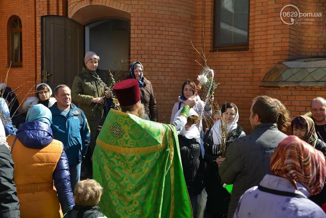 Вербное воскресенье в Свято-Покровском храме с.Боевое, фото-28