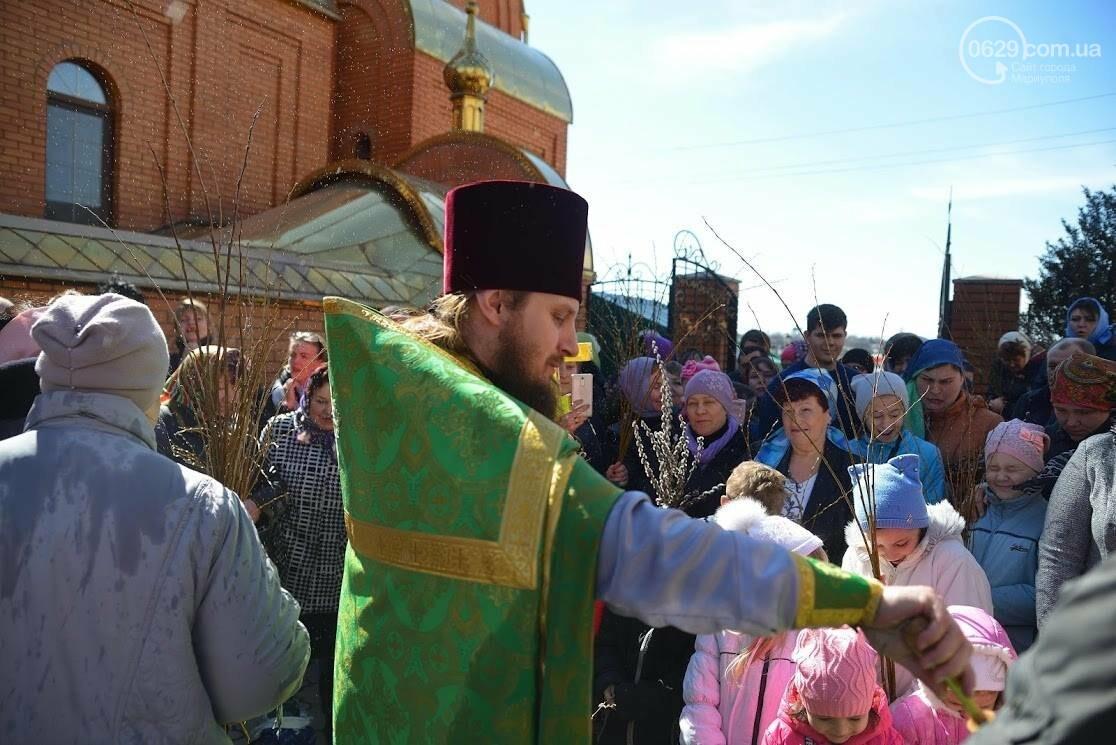 Вербное воскресенье в Свято-Покровском храме с.Боевое, фото-29
