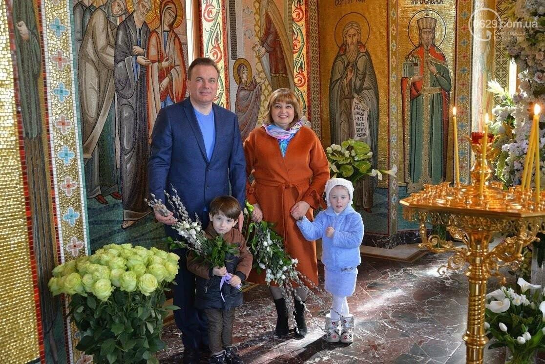 Вербное воскресенье в Свято-Покровском храме с.Боевое, фото-2