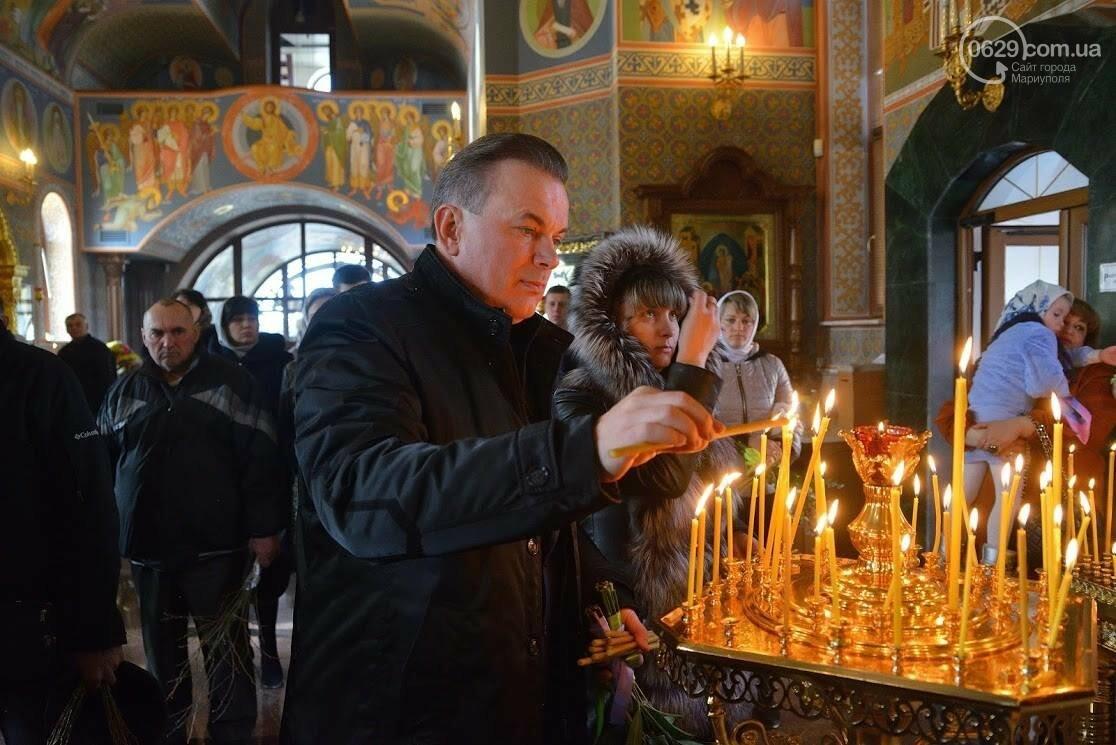 Вербное воскресенье в Свято-Покровском храме с.Боевое, фото-3