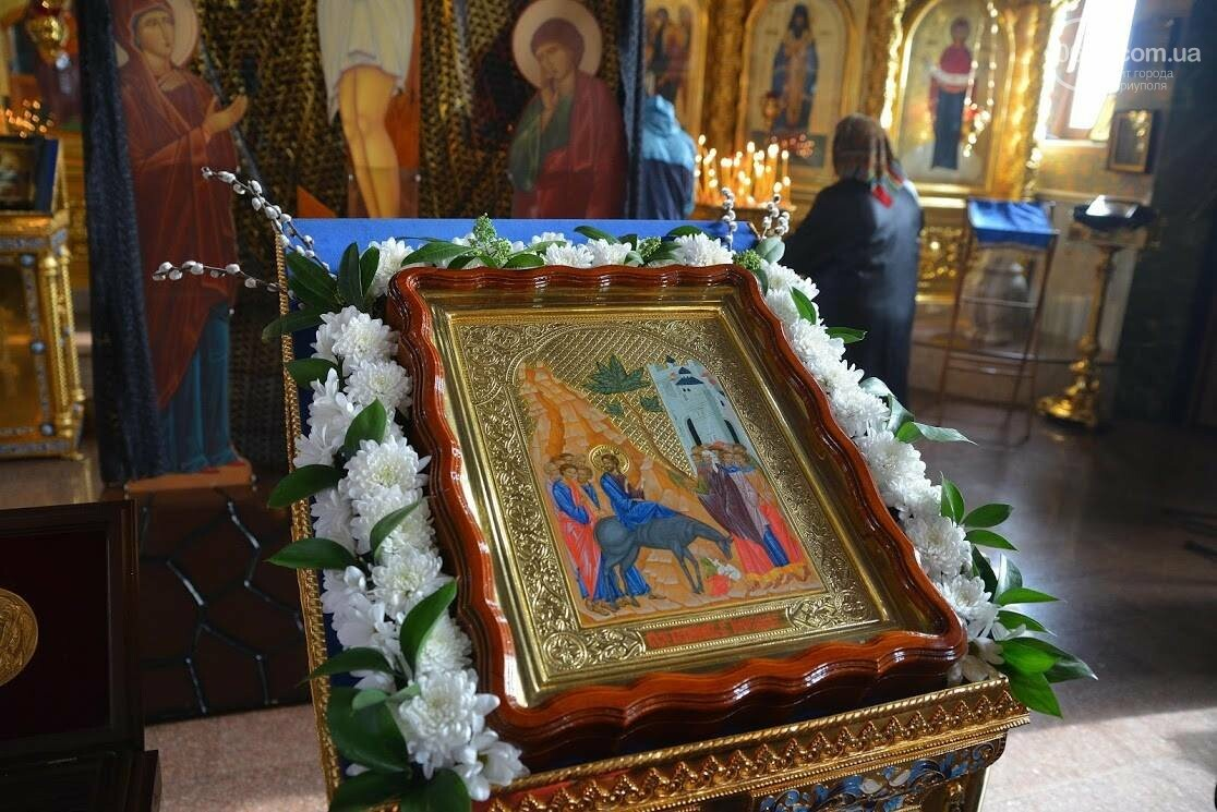 Вербное воскресенье в Свято-Покровском храме с.Боевое, фото-4