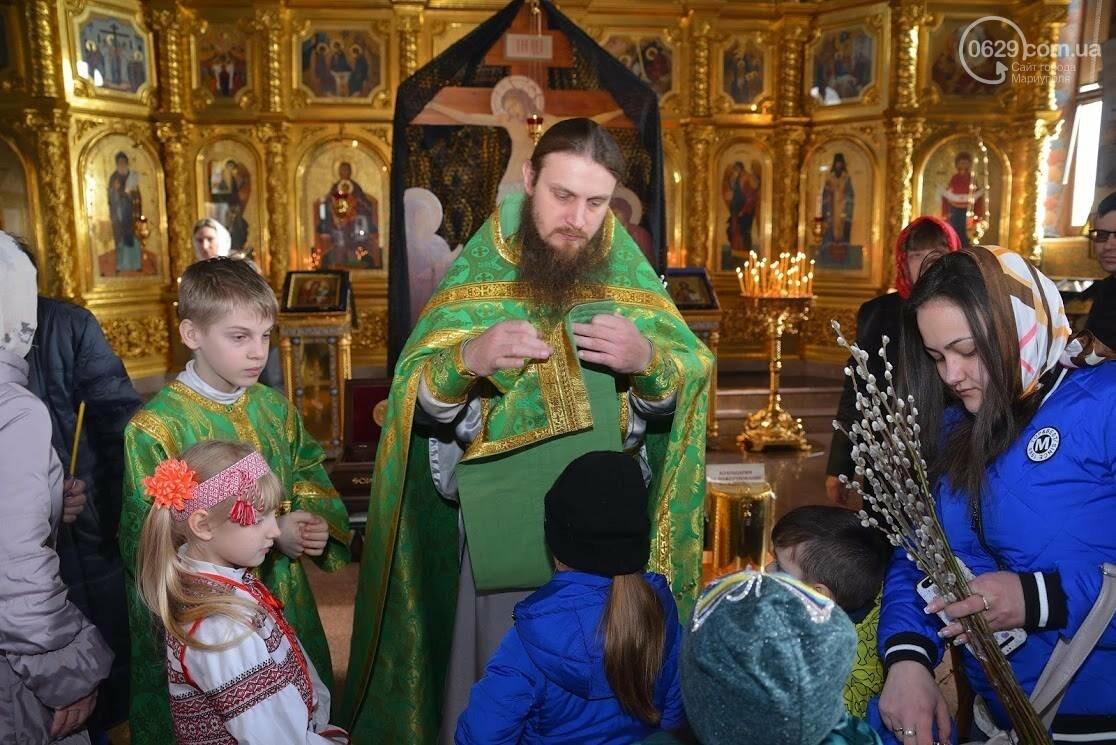 Вербное воскресенье в Свято-Покровском храме с.Боевое, фото-6