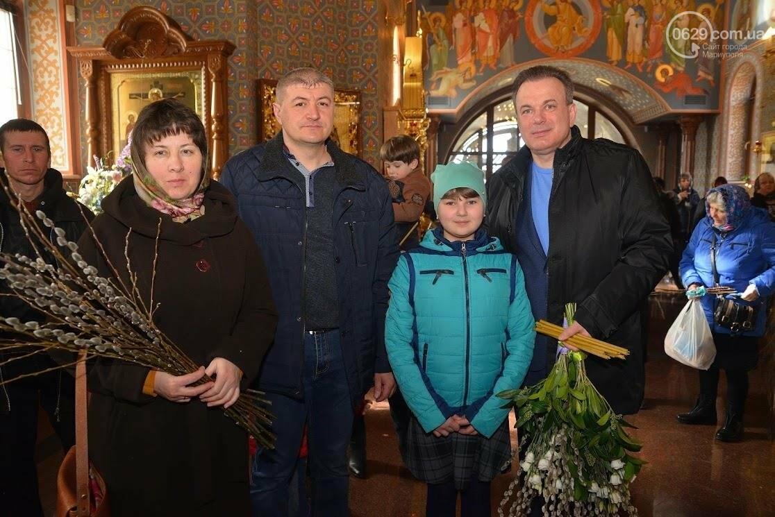 Вербное воскресенье в Свято-Покровском храме с.Боевое, фото-7
