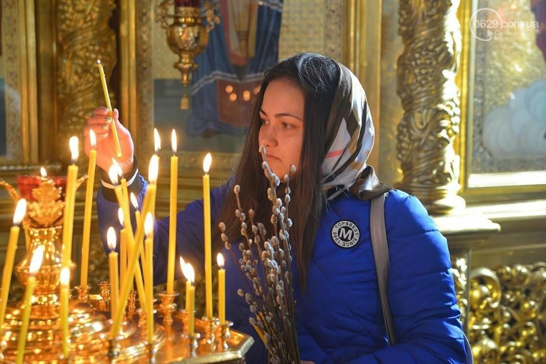 Вербное воскресенье в Свято-Покровском храме с.Боевое, фото-9