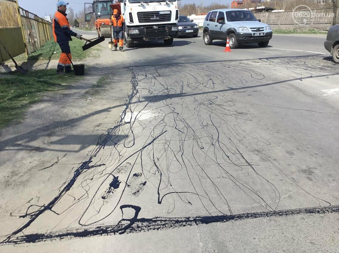 В Мариуполе латочный ремонт вошел в активную фазу (ФОТО, ВИДЕО), фото-8