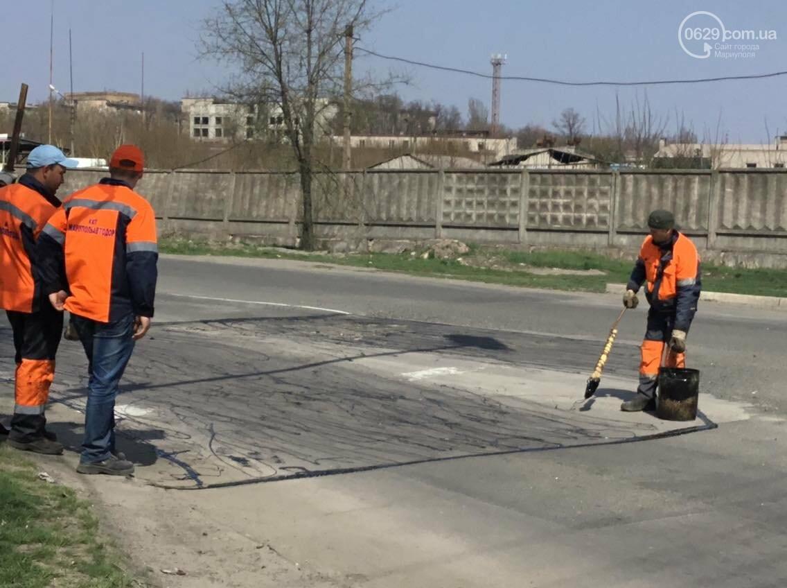 В Мариуполе латочный ремонт вошел в активную фазу (ФОТО, ВИДЕО), фото-5