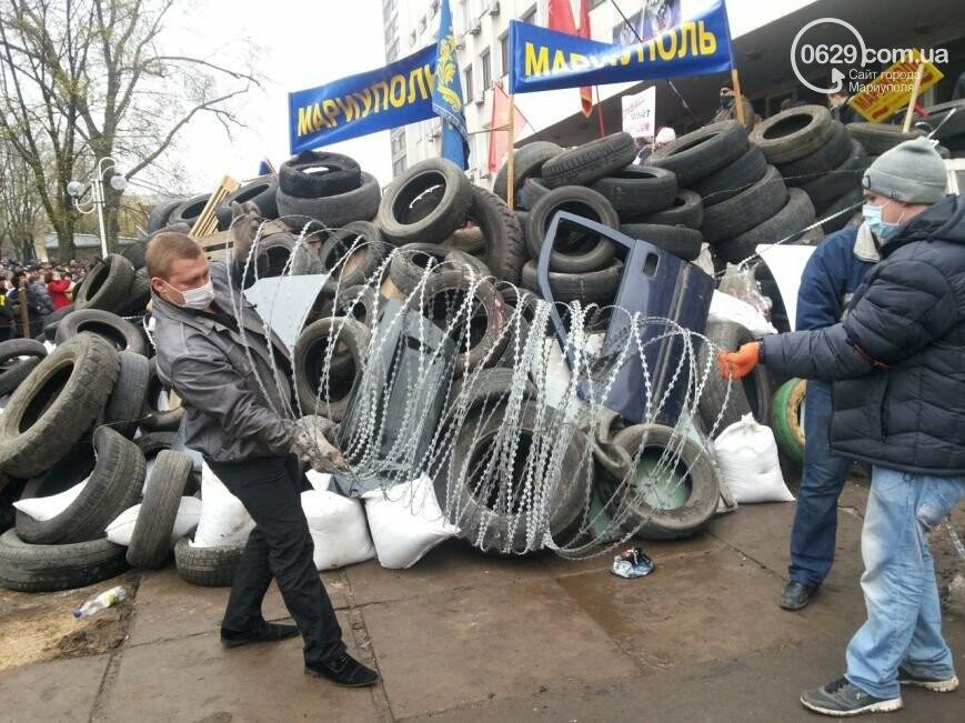 Захват горсовета, мариупольский драмтеатр перестал быть русским и песня для братьев Кличко. О чем писал 0629.com.ua 13 апреля, фото-14