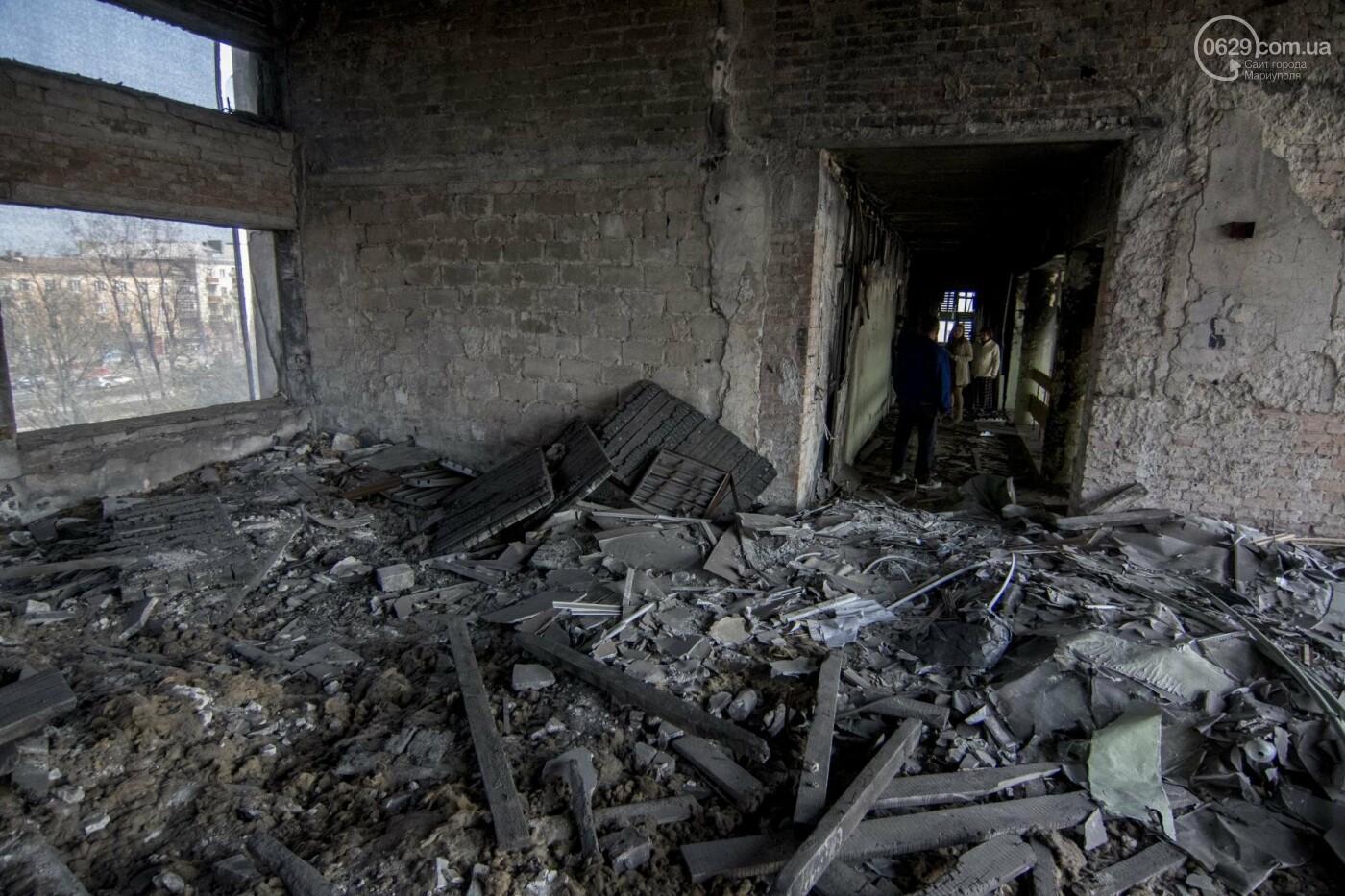 Что осталось от здания мариупольской мэрии, и когда его восстановят (ФОТОРЕПОРТАЖ с руин +ВИДЕО), фото-6