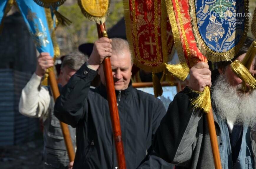 Оборона мариупольской в/ч 3057 от сепаратистов, горожане недовольны декоммунизацией и крестный ход. О чем писал 0629.com.ua 16 апреля, фото-3