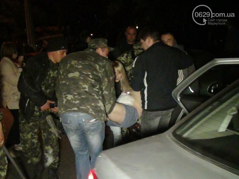 Оборона мариупольской в/ч 3057 от сепаратистов, горожане недовольны декоммунизацией и крестный ход. О чем писал 0629.com.ua 16 апреля, фото-24