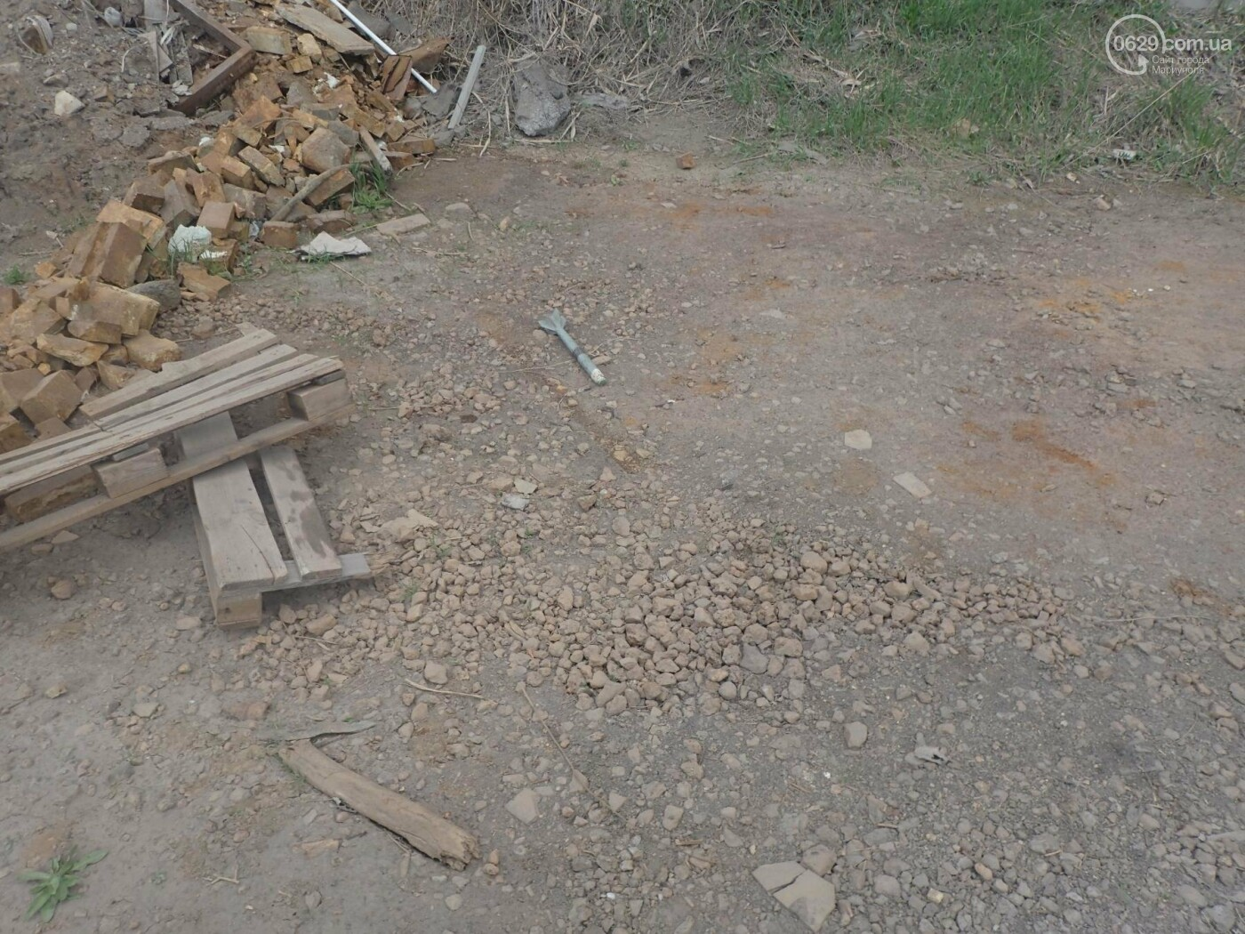 В Мариуполе на территории ММКИ нашли бронебойный снаряд (ДОПОЛНЕНО, ФОТО), фото-1
