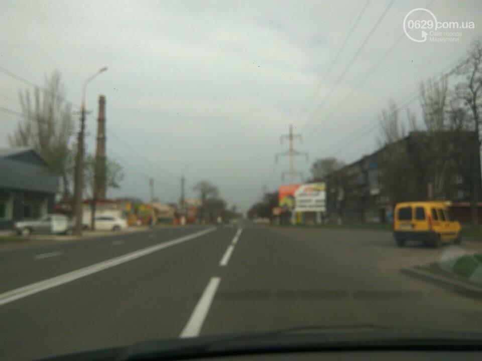На дорогах в Мариуполе пропала двойная сплошная (ФОТО), фото-11