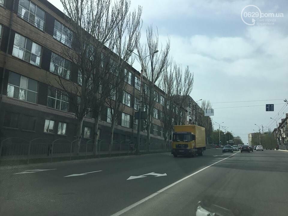 На дорогах в Мариуполе пропала двойная сплошная (ФОТО), фото-10