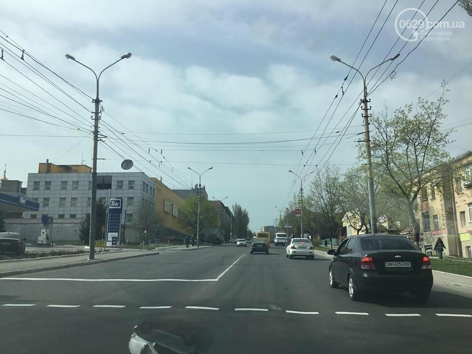 На дорогах в Мариуполе пропала двойная сплошная (ФОТО), фото-16