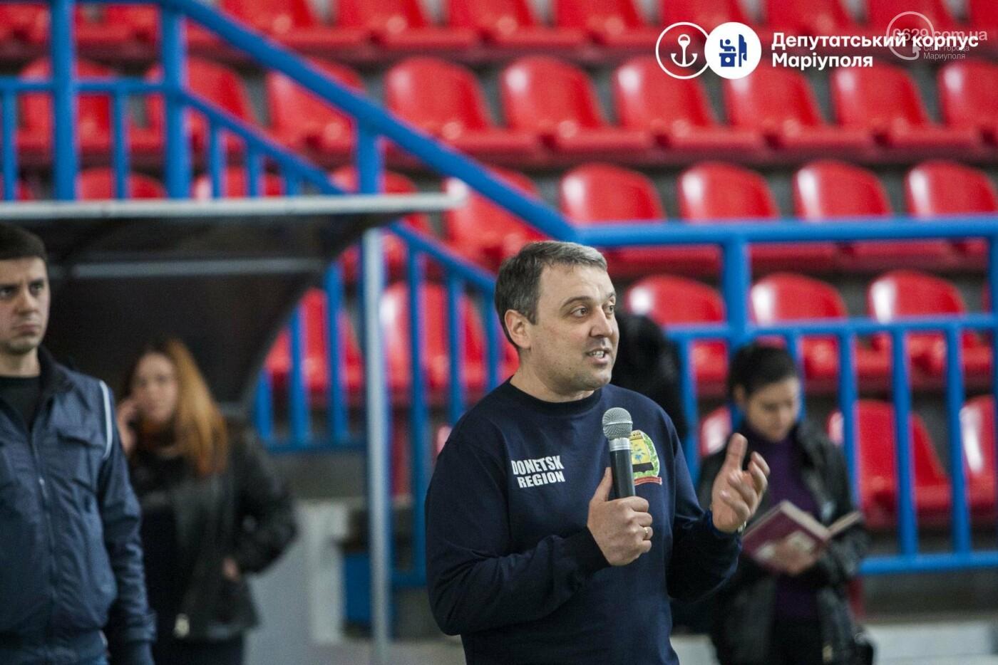 В Мариуполь съехались депутаты, чтобы поиграть в футбол и шашки (ФОТО+ВИДЕО), фото-1
