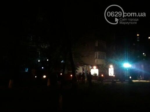 В Мариуполе в доме по ул.Пилипа Орлика горел  балкон (ФОТО), фото-1