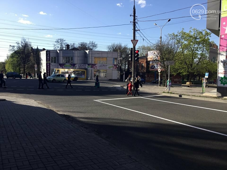 В Мариуполе замечен автомобиль, рисующий разметку (ФОТО+ВИДЕО), фото-2