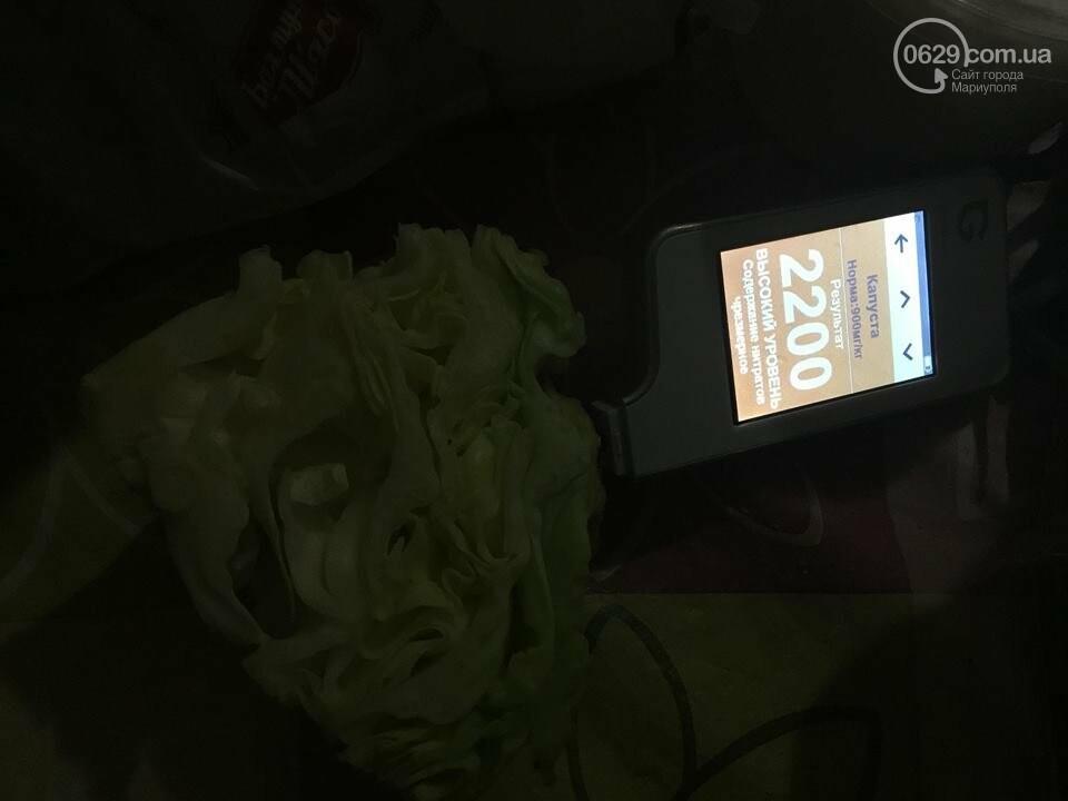 В капусте на рынках и в супермаркетах Мариуполя зашкаливают нитраты (ФОТО), фото-6