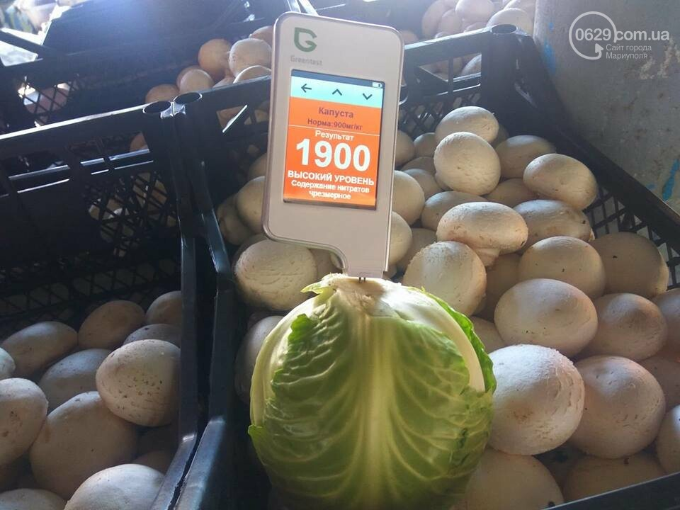 В капусте на рынках и в супермаркетах Мариуполя зашкаливают нитраты (ФОТО), фото-3