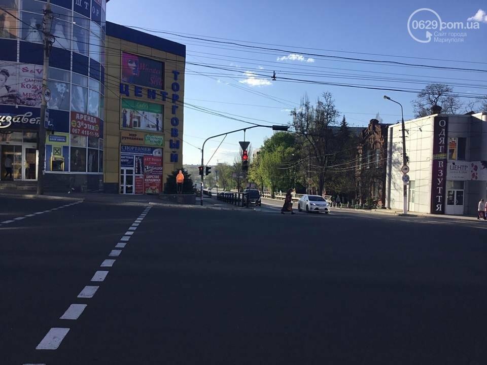 В Мариуполе замечен автомобиль, рисующий разметку (ФОТО+ВИДЕО), фото-6