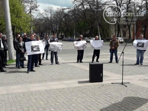 """В Мариуполе члены независимого профсоюза митинговали против мизерных зарплат и произвола на """"Азовстали"""" (ФОТО), фото-5"""