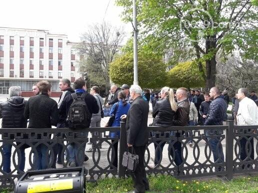 """В Мариуполе члены независимого профсоюза митинговали против мизерных зарплат и произвола на """"Азовстали"""" (ФОТО), фото-2"""