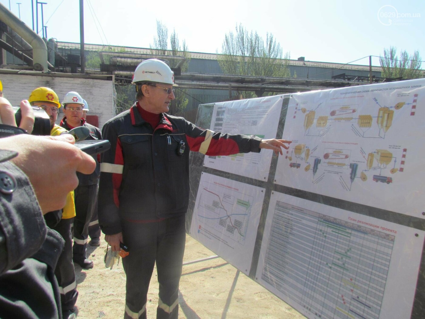 «Метинвест» запустил первый комплекс газоочистки аглофабрики, заявив о сокращении выбросов на треть (ФОТОРЕПОРТАЖ), фото-11
