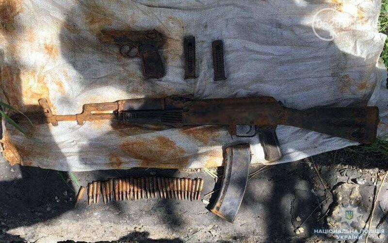 В Мариуполе найден тайник с оружием, похищенным в воинской части в 2014 году (ФОТО), фото-1