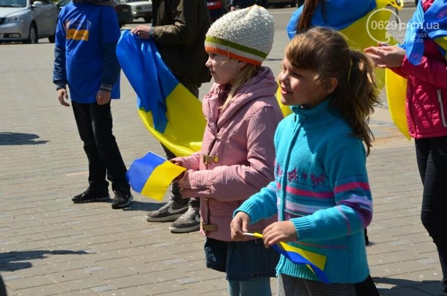 Открытие памятника жертвам Чернобыля, патриотический флешмоб юных мариупольцев и митинг рабочих СРЗ. О чем писал 0629 com.ua 25 апреля, фото-8