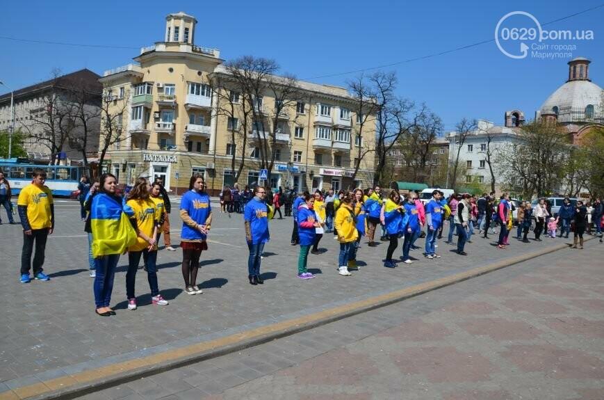 Открытие памятника жертвам Чернобыля, патриотический флешмоб юных мариупольцев и митинг рабочих СРЗ. О чем писал 0629 com.ua 25 апреля, фото-14