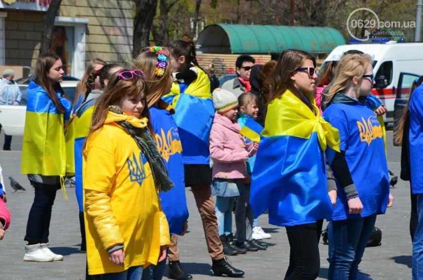 Открытие памятника жертвам Чернобыля, патриотический флешмоб юных мариупольцев и митинг рабочих СРЗ. О чем писал 0629 com.ua 25 апреля, фото-12