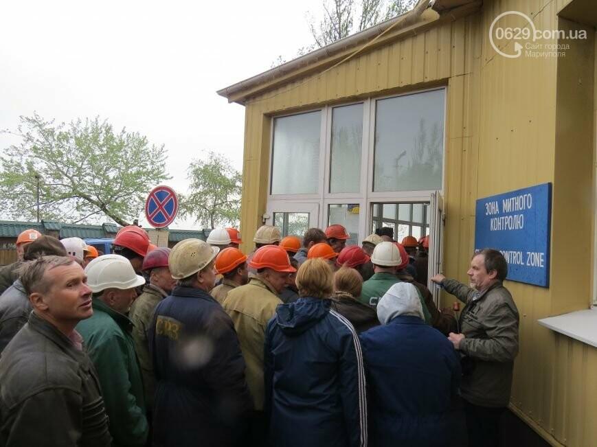 Открытие памятника жертвам Чернобыля, патриотический флешмоб юных мариупольцев и митинг рабочих СРЗ. О чем писал 0629 com.ua 25 апреля, фото-5