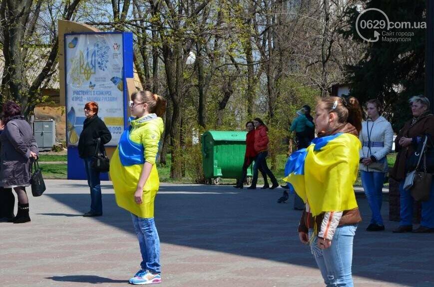 Открытие памятника жертвам Чернобыля, патриотический флешмоб юных мариупольцев и митинг рабочих СРЗ. О чем писал 0629 com.ua 25 апреля, фото-13