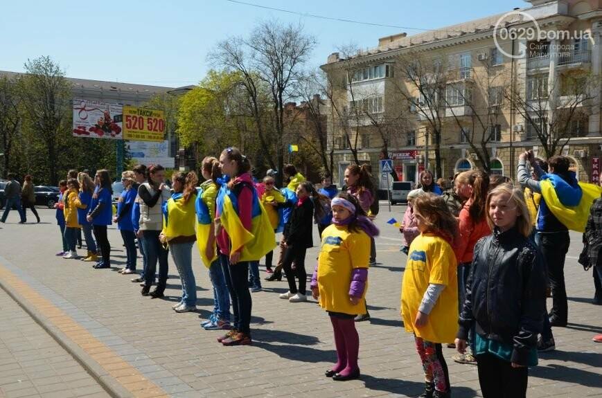 Открытие памятника жертвам Чернобыля, патриотический флешмоб юных мариупольцев и митинг рабочих СРЗ. О чем писал 0629 com.ua 25 апреля, фото-10