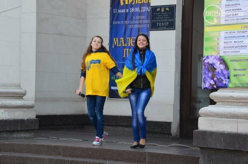 Открытие памятника жертвам Чернобыля, патриотический флешмоб юных мариупольцев и митинг рабочих СРЗ. О чем писал 0629 com.ua 25 апреля, фото-9