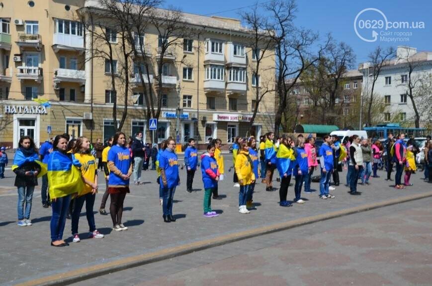 Открытие памятника жертвам Чернобыля, патриотический флешмоб юных мариупольцев и митинг рабочих СРЗ. О чем писал 0629 com.ua 25 апреля, фото-15