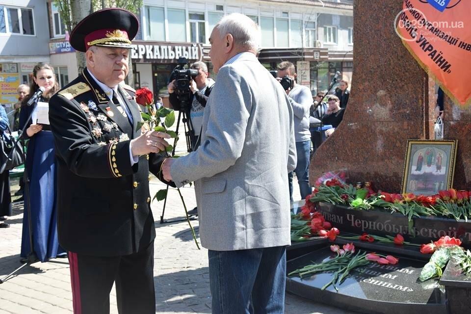 В Мариуполе почтили память погибших на Чернобыльской АЭС (ФОТО), фото-19