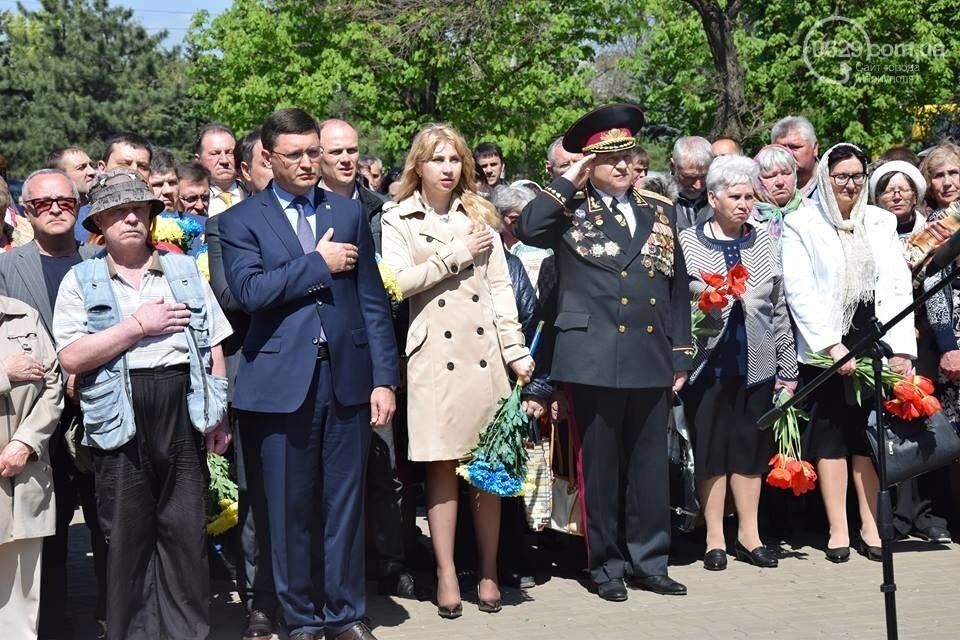 В Мариуполе почтили память погибших на Чернобыльской АЭС (ФОТО), фото-9