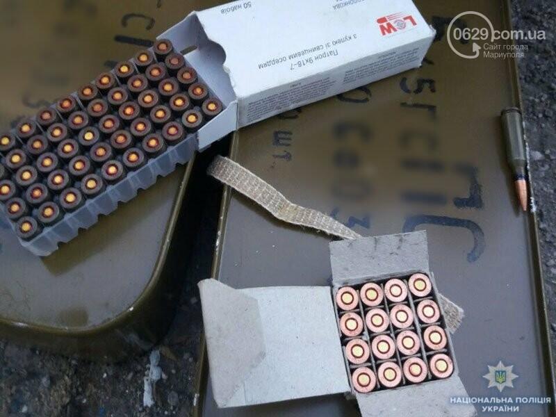 Мариуполец хранил дома арсенал (ФОТО), фото-3