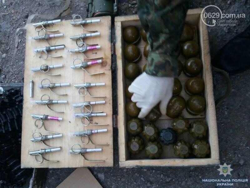 Мариуполец хранил дома арсенал (ФОТО), фото-4