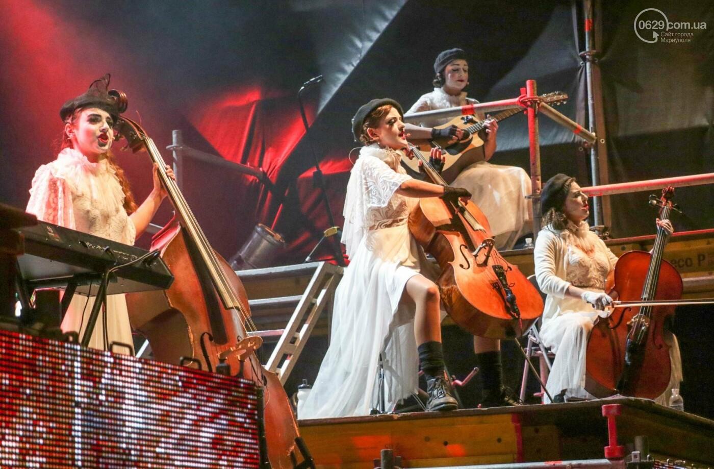 Концерт Dakh Daughters в Городском саду: фееричное открытие ГогольFesta в Мариуполе (ФОТОРЕПОРТАЖ, ВИДЕО), фото-1