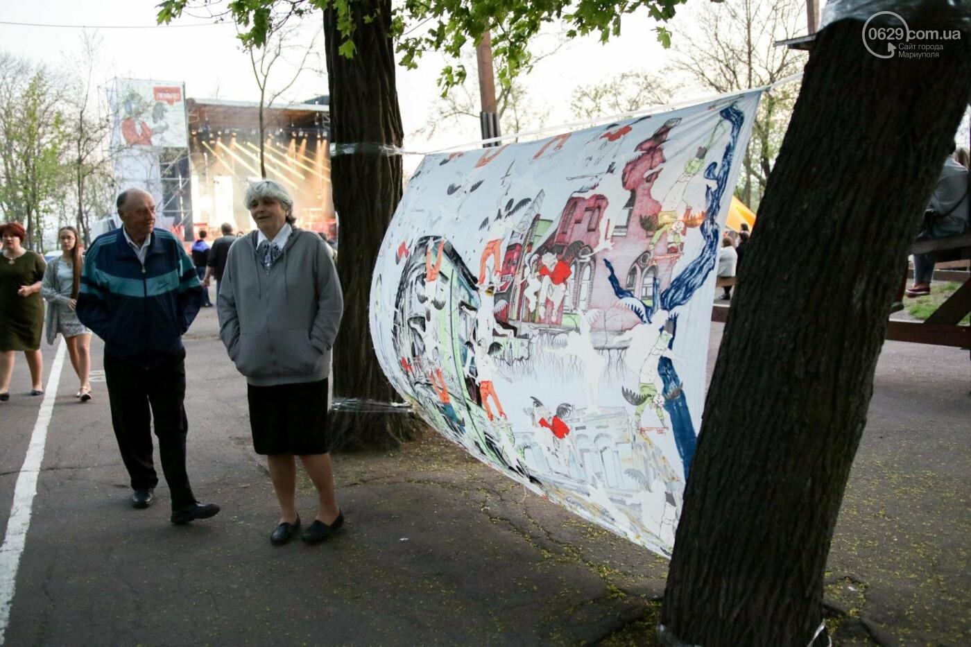 Концерт Dakh Daughters в Городском саду: фееричное открытие ГогольFesta в Мариуполе (ФОТОРЕПОРТАЖ, ВИДЕО), фото-15