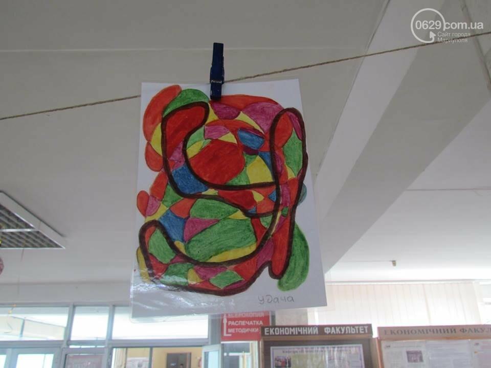 Мариупольский школьник нарисовал картины, чтобы помочь ребенку с аутизмом (ФОТО), фото-7