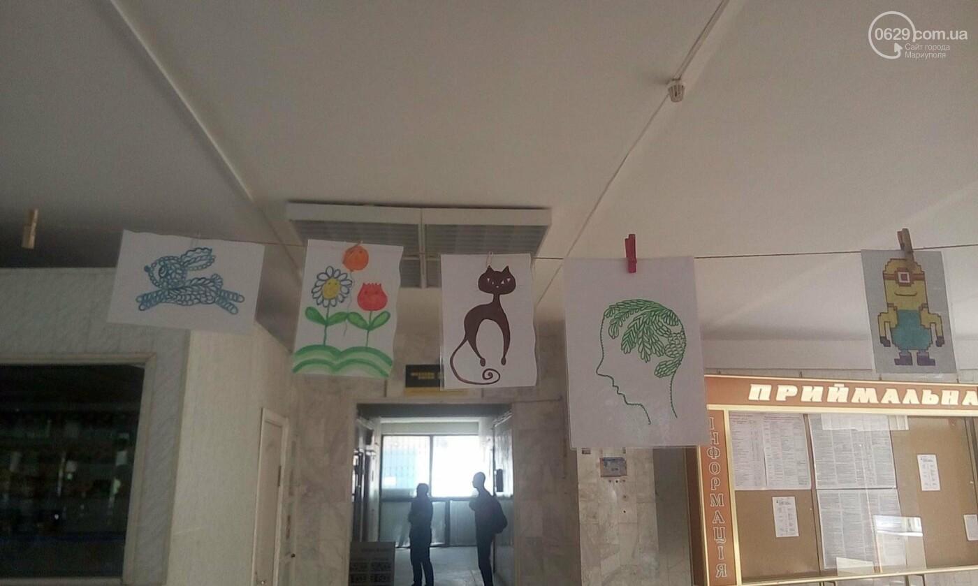 Мариупольский школьник нарисовал картины, чтобы помочь ребенку с аутизмом (ФОТО), фото-13