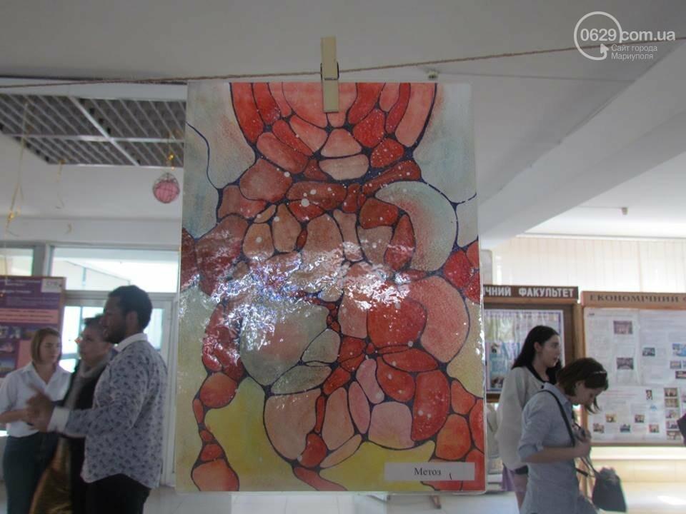 Мариупольский школьник нарисовал картины, чтобы помочь ребенку с аутизмом (ФОТО), фото-8